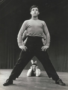 LIZA MINNELLI REHEARSES BEST FOOT FORWARD (1963)