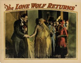 LONE WOLF RETURNS, THE (1926)