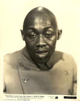 LOVE IS NEWS/STEPIN FETCHIT PORTRAIT (1937)