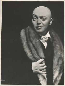 MAD LOVE/ PETER LORRE PORTRAIT (1935)
