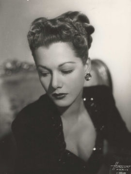 MARIA MONTEZ PORTRAIT BY HARCOURT-PARIS (1949)
