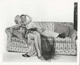 MARILYN MONROE AND TOM EWELL/THE SEVEN YEAR ITCH KEYBOOK PHOTO (1955)