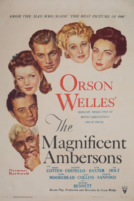 MAGNIFICENT AMBERSONS, THE/ART BY NORMAN ROCKWELL (1942)