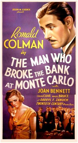 MAN WHO BROKE THE BANK AT MONTE CARLO, THE (1935)