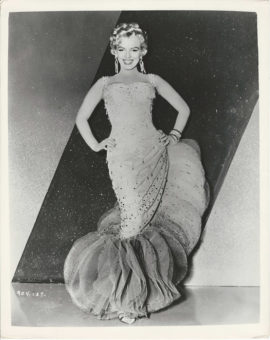 MARILYN MONROE FOR THERE'S NO BUSINESS LIKE SHOW BUSINESS (1954)