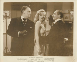 MARILYN MONROE AND GROUCHO MARX IN LOVE HAPPY (1948)