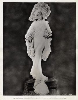 MARLENE DIETRICH / DEVIL IS A WOMAN [CAPRICE ESPAGNOL] (1934)