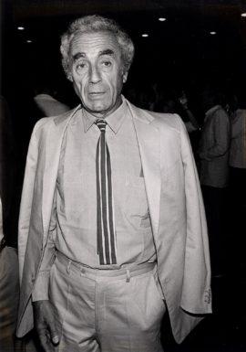 MICHELANGELO ANTONIONI (ca. 1980)