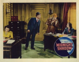 MIDNIGHT SHADOW/LOBBY CARD (1939)