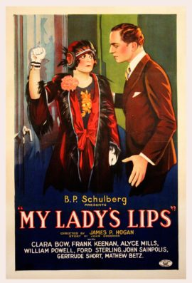 MY LADY'S LIPS (1925)