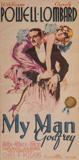MY MAN GODFREY/ CAMPAIGN BOOK (1936)