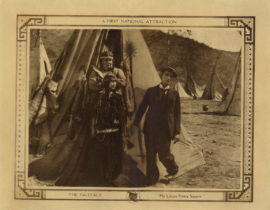 BUSTER KEATON IN THE PALEFACE LOBBY CARD (1922)