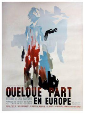 QUELQUE PART EN EUROPE [IT HAPPENED IN EUROPE] (1948)
