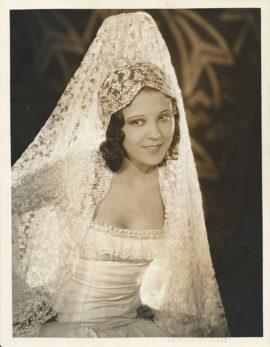 RAQUEL TORRES PORTRAIT BY RUTH HARRIET LOUISE (1928)