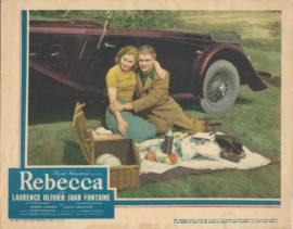 REBECCA LOBBY CARD (1940)