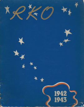 RKO 1942-1943 RKO'S VICTORY PROGRAM [EXHIBITOR BOOK]