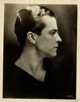 RAMON NOVARRO PORTRAIT (1924
