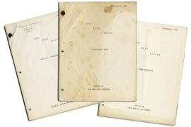 "REAL MCCOYS, THE (1958/60) Two scripts for ""Grampa's War"" and ""First Date"""