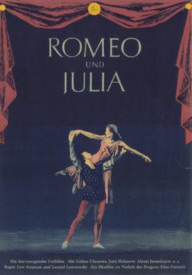 ROMEO AND JULIET [ROMEO I DZHULYETTA} (1955)