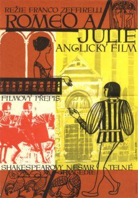 ROMEO AND JULIET (1968; 1st Czech release, 1970)