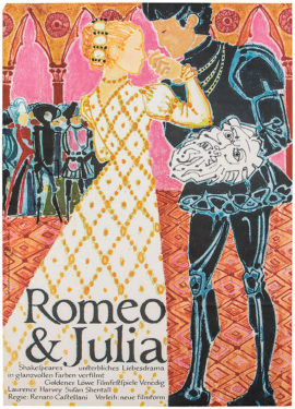 ROMEO AND JULIET [GIULIETTA E ROMEO] (1954; 1st German reissue, ca 1965)