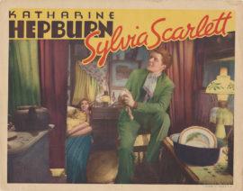 SYLVIA SCARLETT LOBBY CARD (1935)