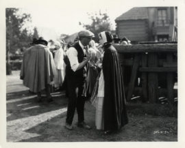 SCARLET LETTER, THE / BEHIND-THE-SCENES WITH GISH, SJOSTROM (1926)