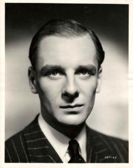 SECRET AGENT (1936) / JOHN GIELGUD PORTRAIT