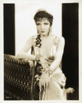 CLAUDETTE COLBERT / THE SIGN OF THE CROSS (1932)