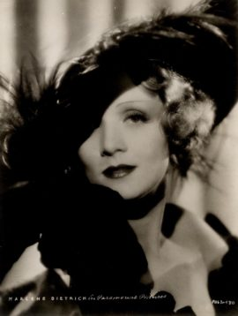 MARLENE DIETRICH IN SONG OF SONGS (1933)