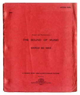 SOUND OF MUSIC, THE (1965) Rev Final script by Rodgers and Hammerstein, Mar 20, 1964