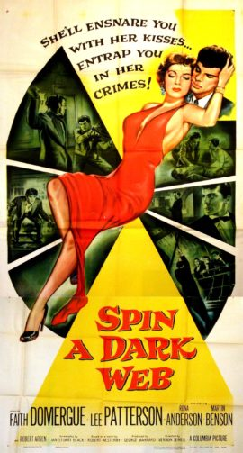SPIN A DARK WEB (1956)