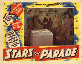 STARS ON PARADE/LOBBY CARD (1947)