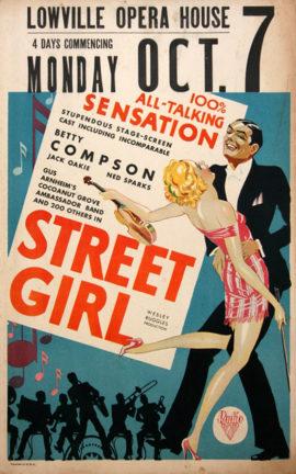 STREET GIRL (1929)