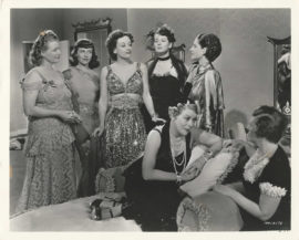 WOMEN, THE/ GROUP CAST CLIMATIC SCENE (1939)