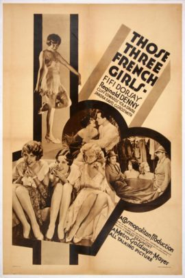 THOSE THREE FRENCH GIRLS (1930)