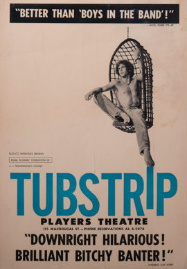 TUBSTRIP OFF-BROADWAY PLAY (1973)