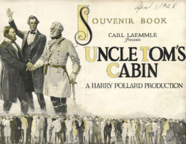 UNCLE TOM'S CABIN/ PROGRAM (1927)