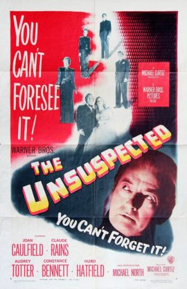 UNSUSPECTED, THE (1947)