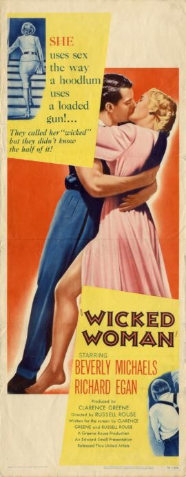 WICKED WOMAN (1953)