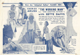 WORKING MAN, THE/HERALD WITH BETTE DAVIS (1933)