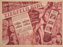 ZIEGFELD GIRL/OVERSIZE HERALD (1941)