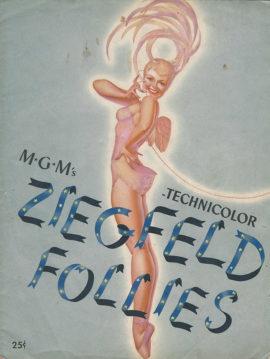 ZIEGFELD FOLLIES SOUVENIR BOOK (1946)