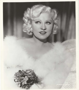 MAE WEST STAMPED PARAMOUNT PORTRAIT (1937)