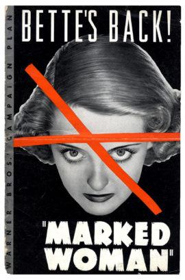 BETTE DAVIS IN MARKED WOMAN / PRESSBOOK (1937)