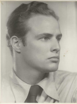 MARLON BRANDO EARLY PORTRAIT (c. 1946)