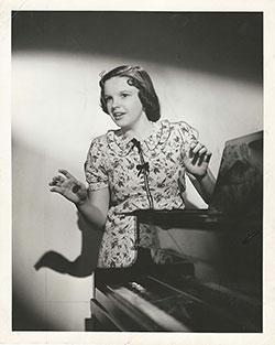 Judy Garland - Clarence Bull
