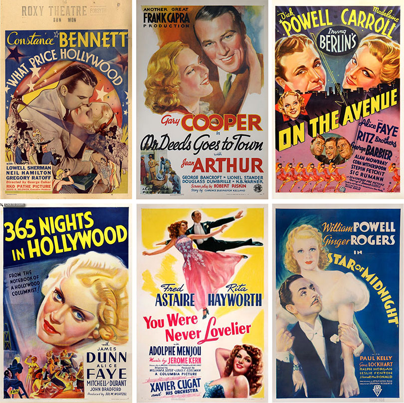 WalterFilm 1930 Movie Posters