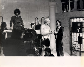 ROCKY HORROR PICTURE SHOW, THE (1975) Behind-the-scenes photo