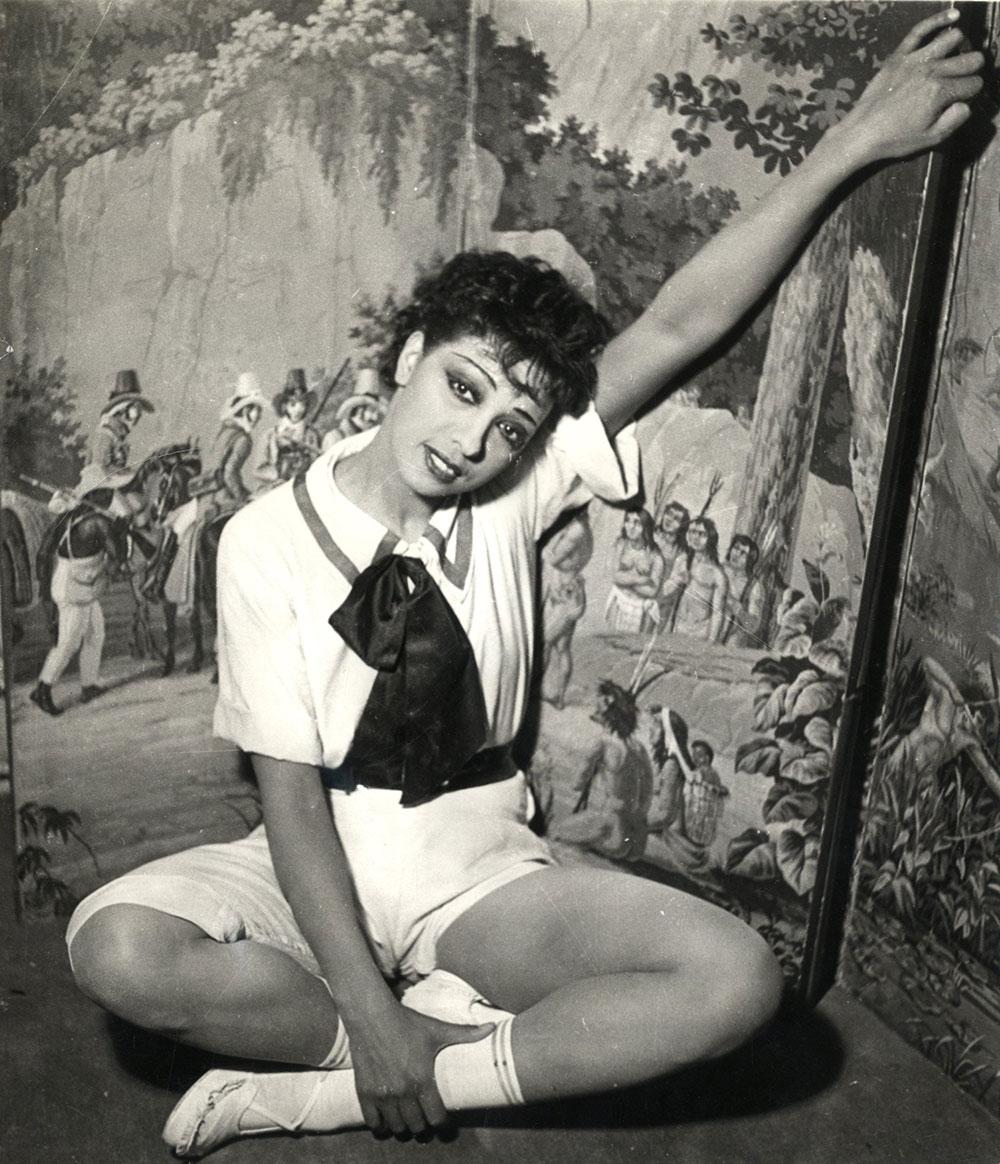 JOSEPHINE BAKER – a photograph in La Creole (1934)